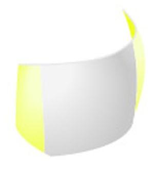 Adapt Sectional Matrix – s tvarovačmi žlté, 751