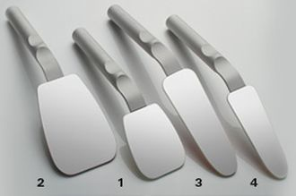 Photo Mirror Rhodium FS occlusal 66 x 95 mm jednostranné s dlhou rúčkou