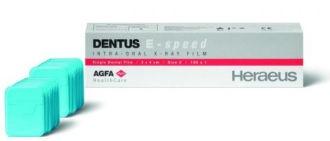 Agfa Dentus E-speed 3 x 4 cm