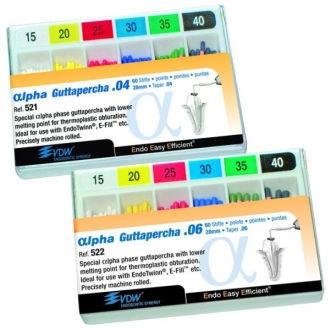 Alpha Guttapercha VDW  – ISO 30, .04, V040521028030
