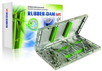 Rubber-Dam Satin Set