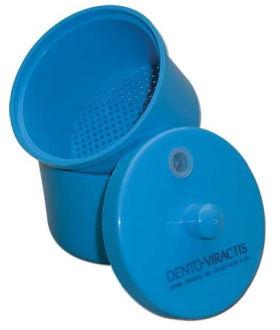 Dezinfekčná nádoba na vrtáky Dento-Viractis modrá