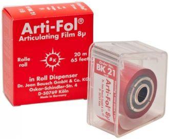 Bausch Arti-Fol 8 um červená jednostranná