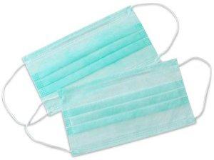 Masky Medibase s gumičkou – Zelené, 5-725