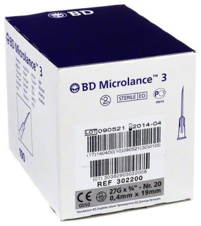 Ihly BD Microlance 0,4 x 19 mm