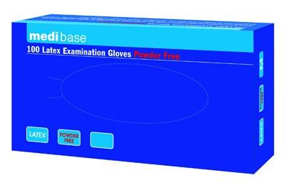Rukavice Medibase latexové nepúdrované – L 8/9, 5-433