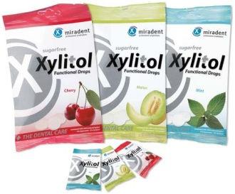 Miradent Xylitol Drops Cherry