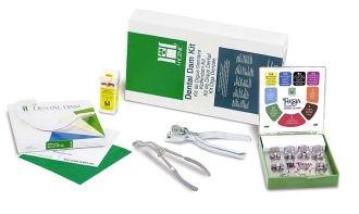 Hygenic Dental Dam Winged Complete Kit
