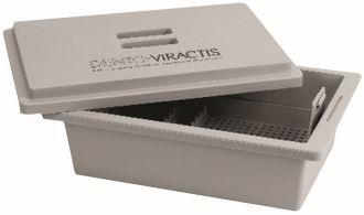 Dezinfekčná nádoba Dento-Viractis sivá