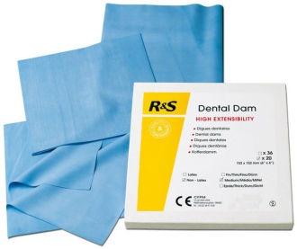 Dental Dam Non-Latex Heavy R&S