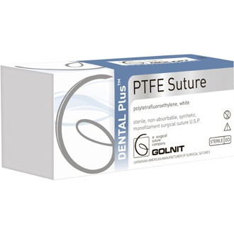 Dental Plus PTFE 5/0 RC 16 mm