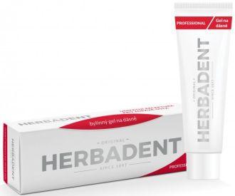 Herbadent Professional gél na ďasná s chlórhexidínom