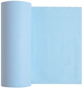 Podbradníky Medibase v rolke – modré, 5-505