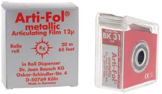 Bausch Arti-Fol Metallic 12 um červená jednostranná