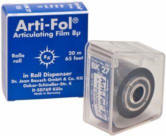 Bausch Arti-Fol 8 um modrá obojstranná