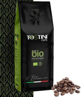 Tostini True Bio zrnková káva