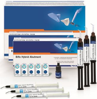 Bifix Hybrid Abutment – Implant Set Assorted