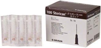 Ihly Braun Sterican hnedé 0,45 x 25 mm
