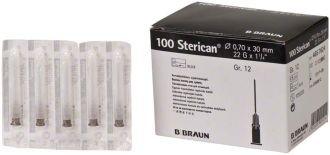 Ihly Braun Sterican čierne 0,7 x 30 mm