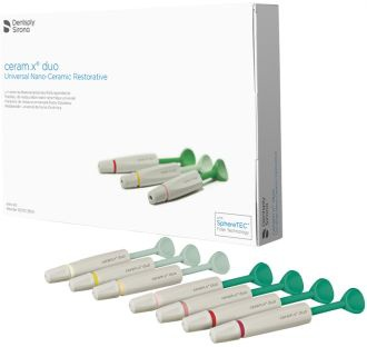 Ceram.X Duo+ Syringes Starter Kit