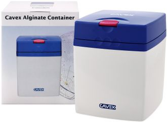 Cavex Alginate Container modrý