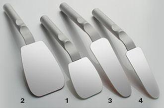 Photo Mirror Rhodium FS lateral straight 40/55 x 157 mm obojstranné bez rúčky