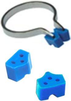 Add-On Silicone Wedges modré