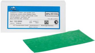 Casting Wax Sheets hrubý drsný zelený 0,5 mm
